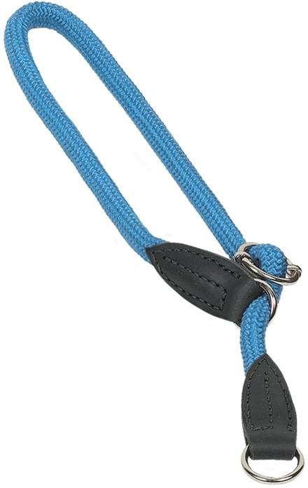 Nobby FUN Royal kulatý polostahovací obojek světle modrý 50cm