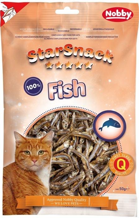 Nobby StarSnack Fish pamlsky pro kočky 50g