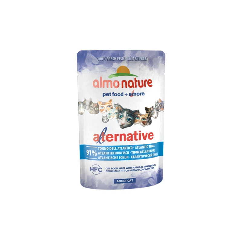 Almo Nature Alternative WET CAT - Atlantský tuňák 55g