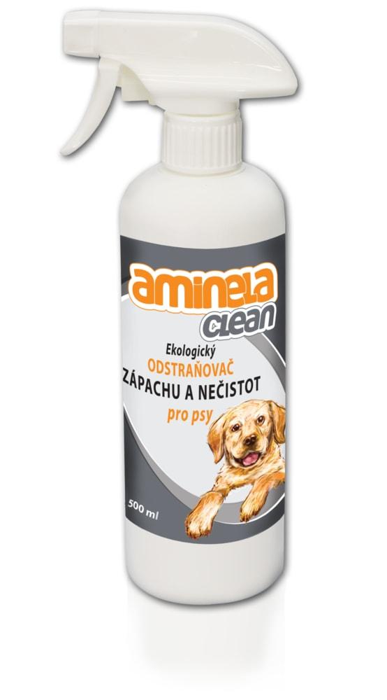 Aminela Clean Ekologický odstraňovač zápachu a nečistot pro psy 500ml
