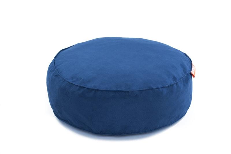 Kulatý pelíšek Aminela Full comfort 60/15cm modrá
