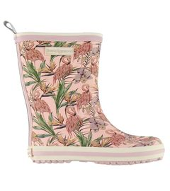 BUNDGAARD CLASSIC RUBBER BOOT Rose Flamingo