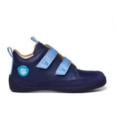 AFFENZAHN LEATHER SNEAKER Bear - Brown Blue