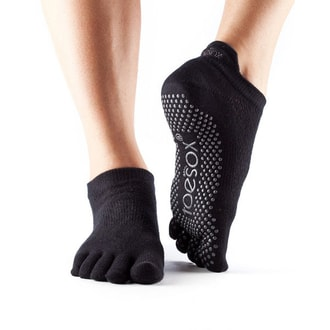 TOESOX LOW RISE Grip Black