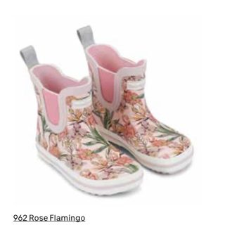 BUNDGAARD SHORT CLASSIC RUBBER BOOT Rose Flamingo