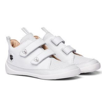 AFFENZAHN LEATHER SNEAKER POLAR BEAR Triple White