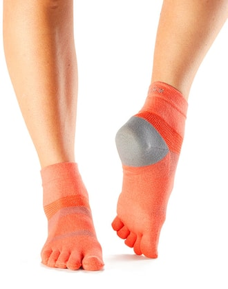 TOESOX MINNIE SPORT 4AM Papaya