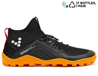 VIVOBAREFOOT PRIMUS SWIMRUN BOOT SG L Mesh Black/Orange