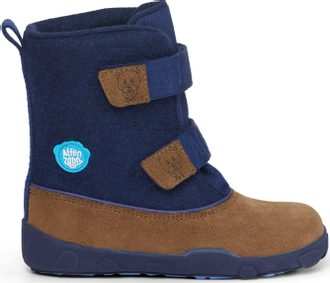 AFFENZAHN MINIMAL HIGHBOOT LEATHER Bear/Dark blue/Brown