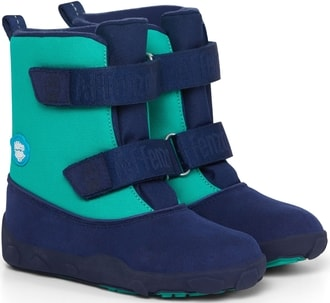 AFFENZAHN MINIMAL HIGHBOOT VEGAN Dino/Green/Blue