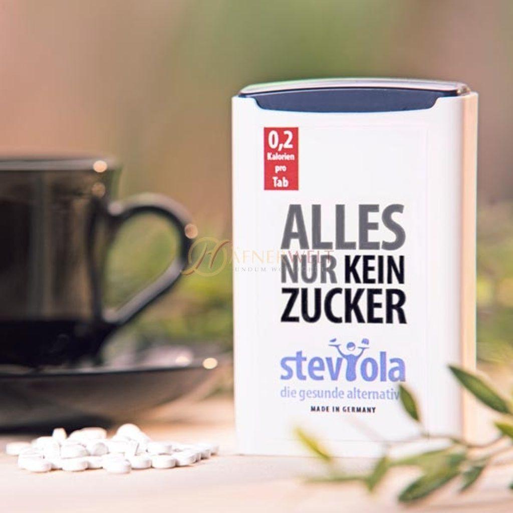 Stevia sladidlo - 300 tablet v dávkovači