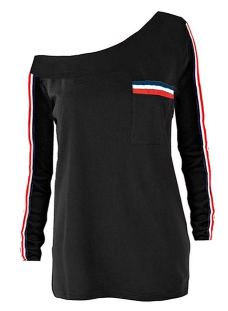 Dámské originální triko - UNI (S-L)  Black