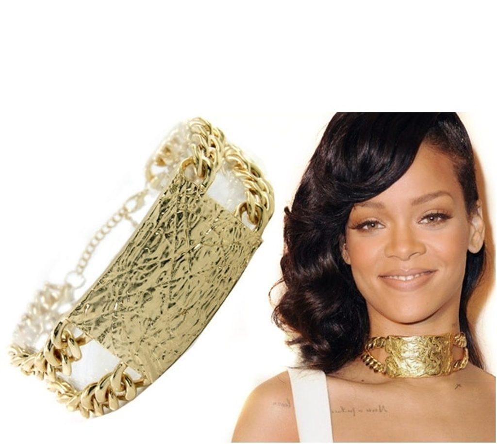 Luxusní náhrdelník ve stylu Rihanna