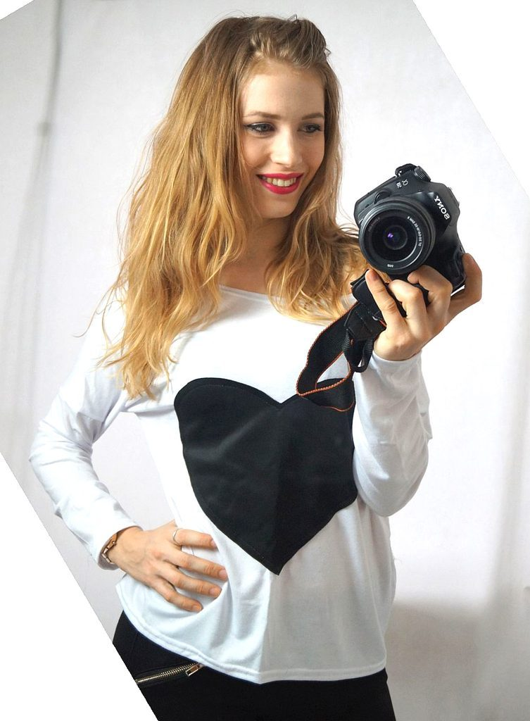 Dámská sexy oversize tunika s odhalenými rameny - UNI (S-L)  White