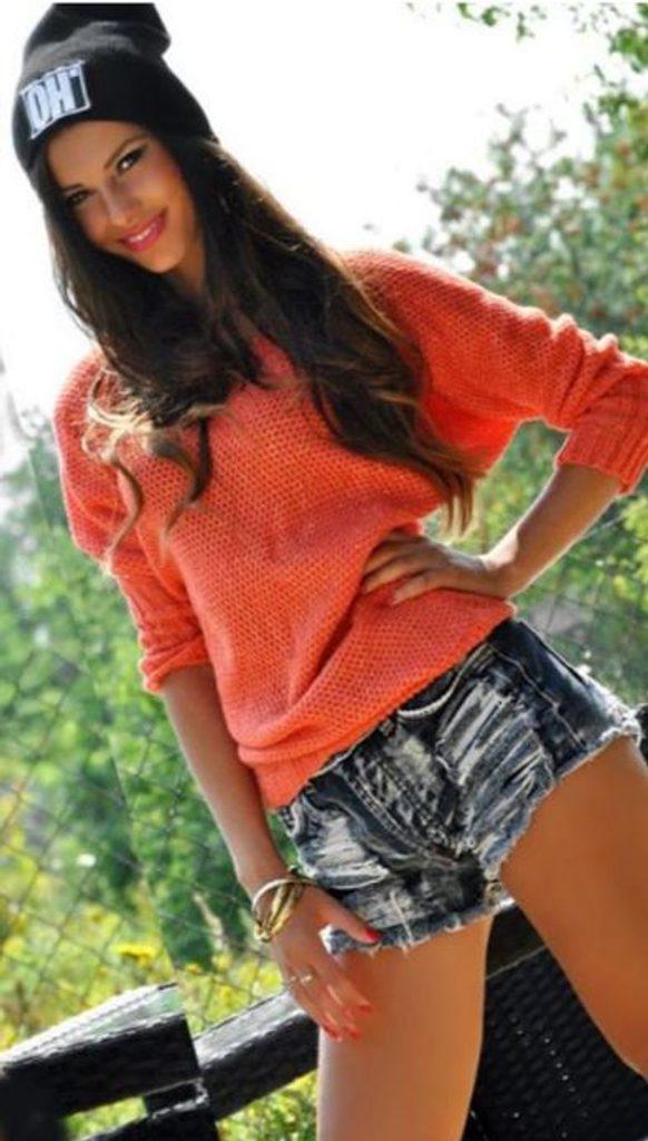Dámský svetr s netopýřím střihem - UNI (S-L)  Coral