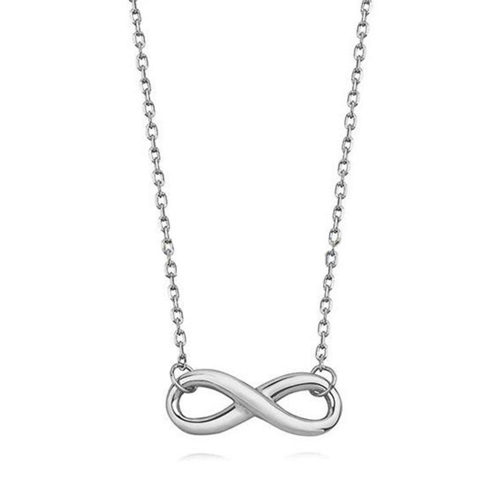 Stříbrný náhrdelník Nekonečno