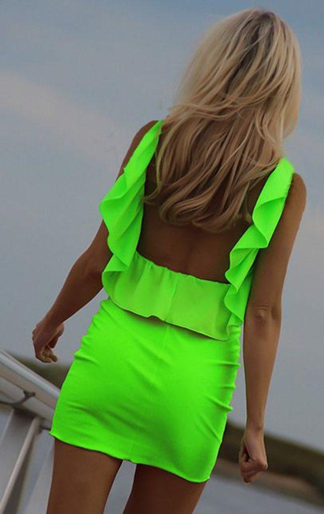 Exkluzivní dámské letní šaty - UNI (S-L)