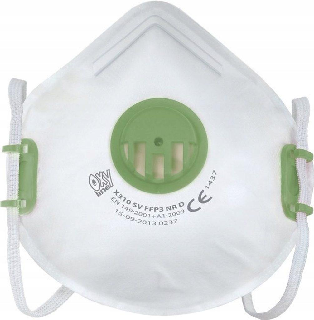 Respirátor  FFP3 NR D, výdechový ventilek