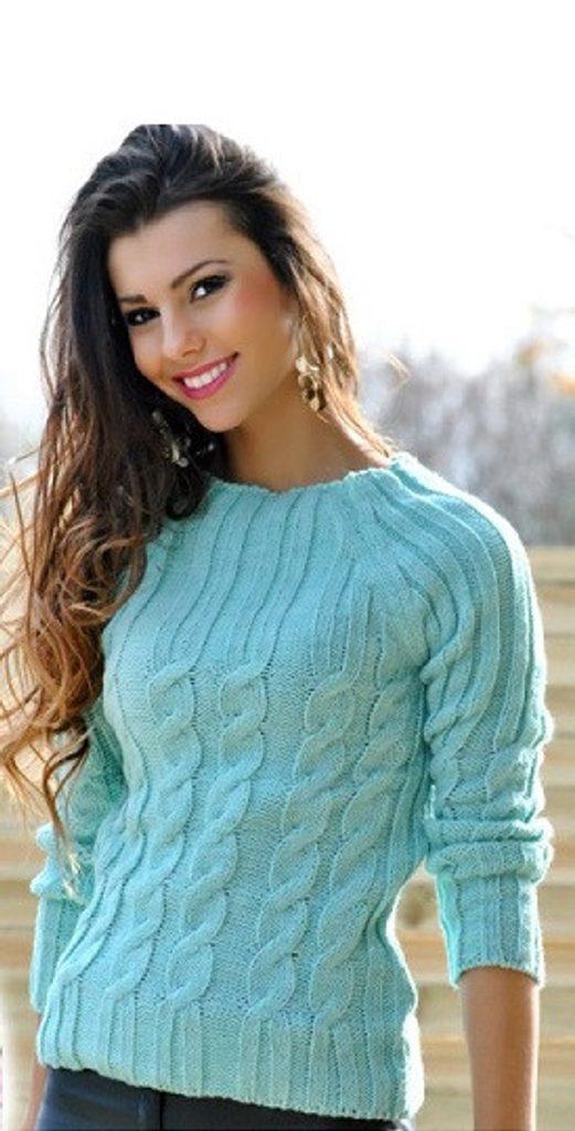 Dámský vlněný svetr - UNI (S-L)