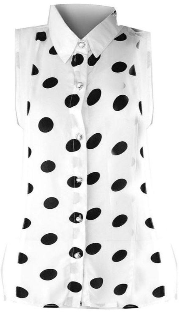 Luxusní košile bez rukávů - UNI (S-L)  White
