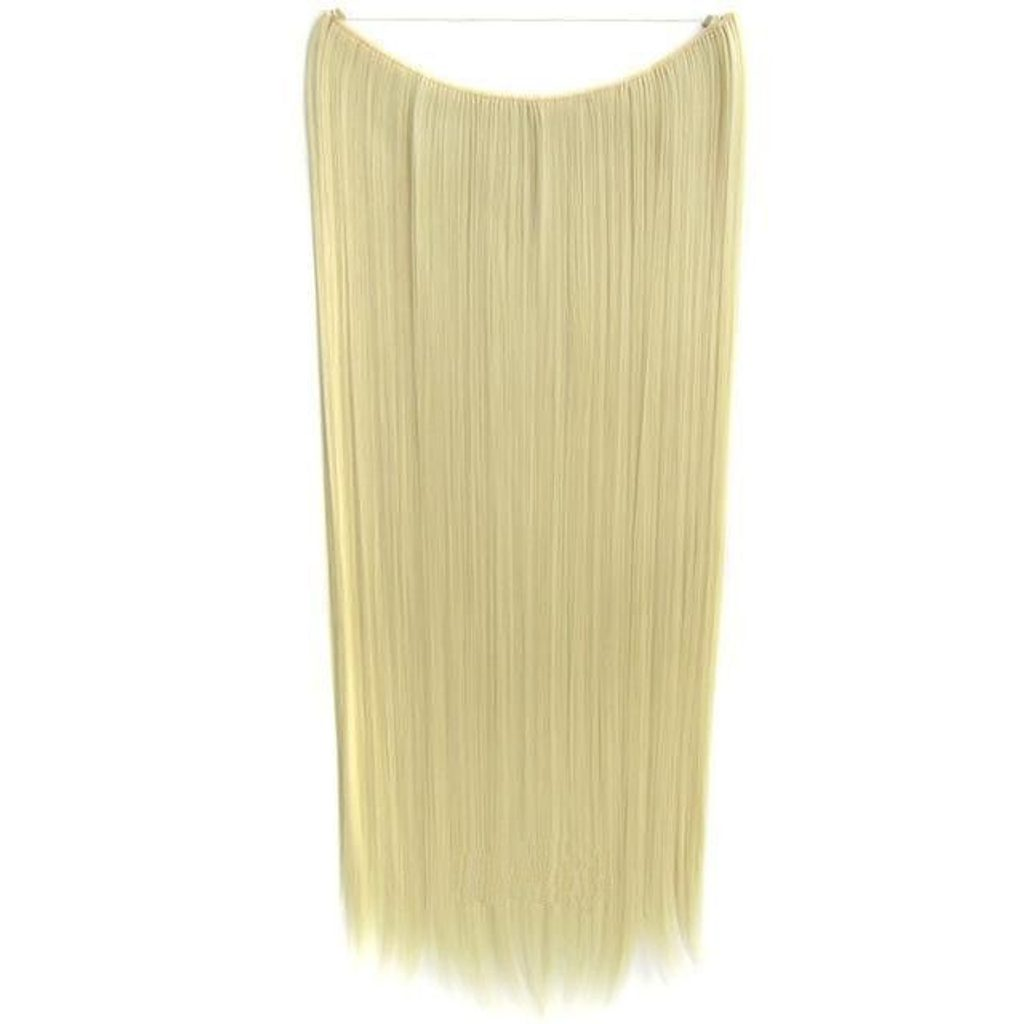 FLIP IN vlasy - 100% Lidské vlasy k prodloužení REMY, přírodní Blond