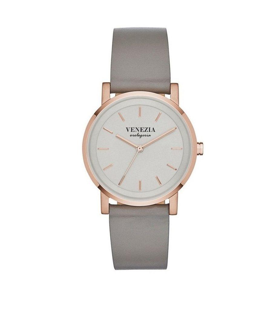 Luxusní elegantní hodinky VENEZIA SIMPLE, Grey