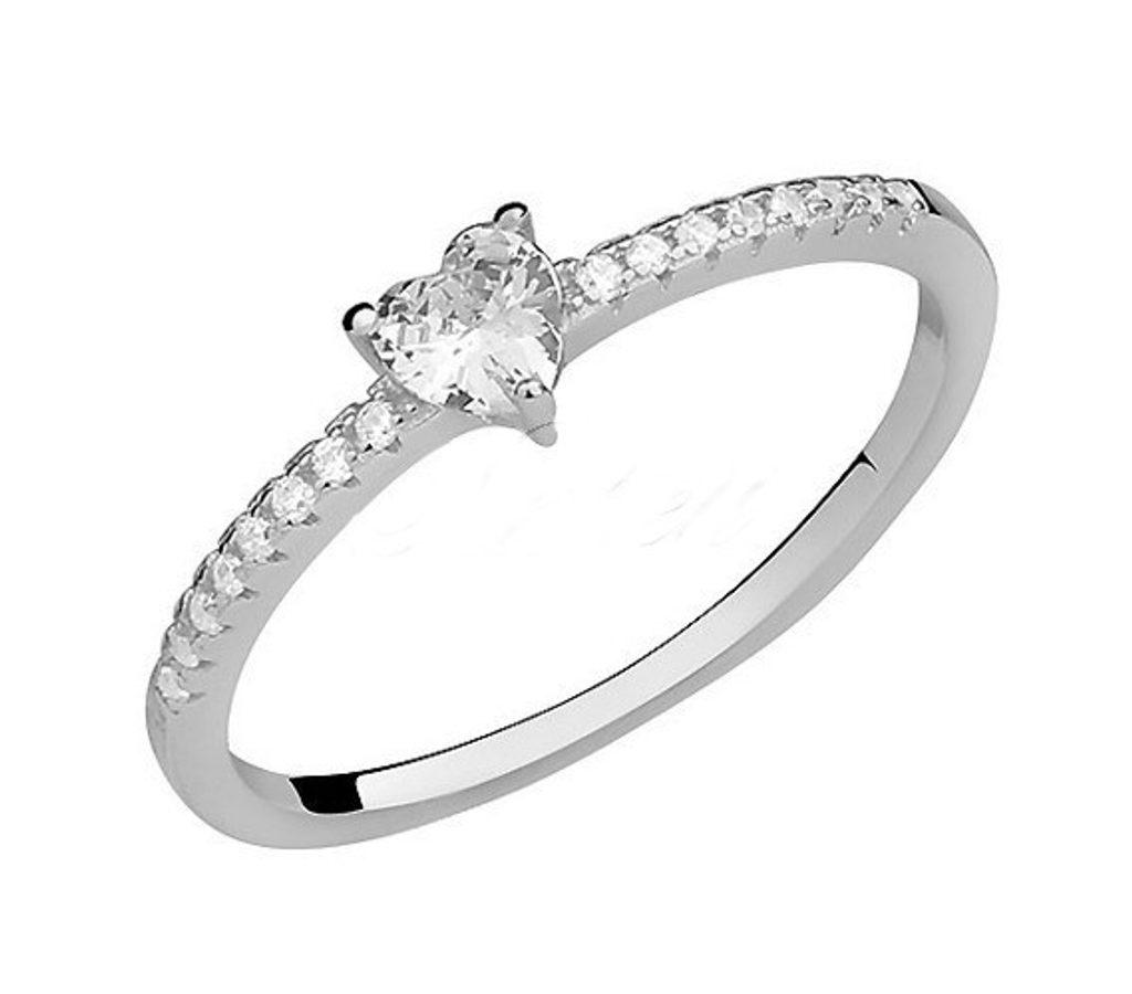 Stříbrný prsten Fatimia se Swarovski Elements Zirkonia - 53 mm