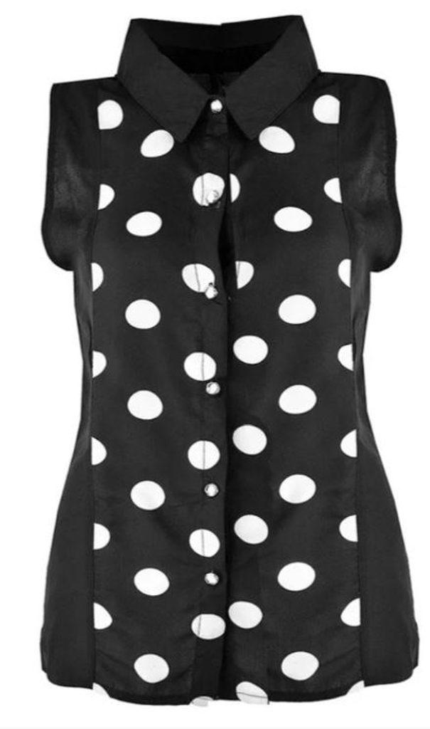 Luxusní košile bez rukávů - UNI (S-L)  Black