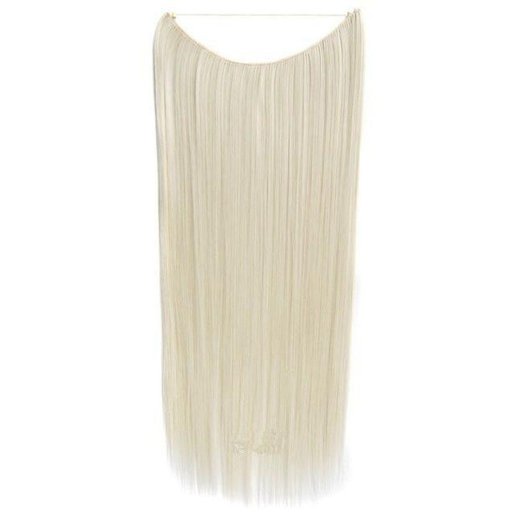 FLIP IN vlasy - 100% Lidské vlasy k prodloužení REMY, platinová Blond