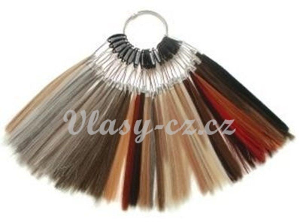 Vzorník odstínů vlasů k prodlužování