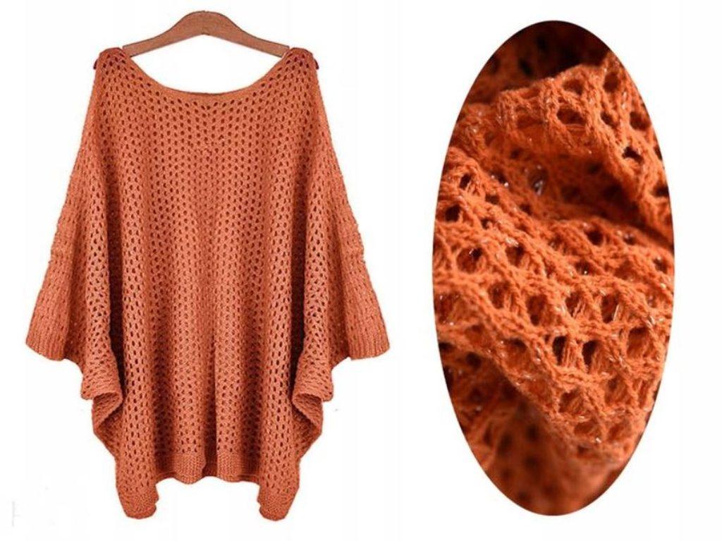 Dámský luxusní svetřík - UNI (S-L)  Orange