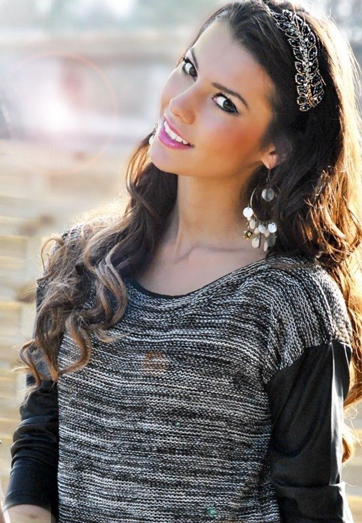Luxusní dámský svetr s rukávy z eko kůže - UNI (S-L)  Black