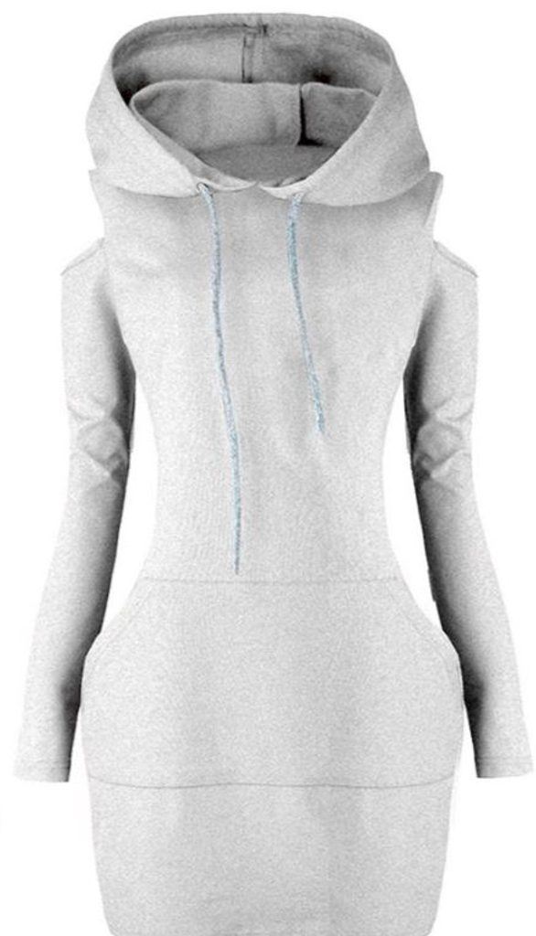 Dámská originální mikina - UNI (S-L)  Grey