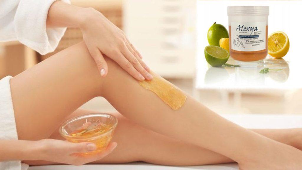 Přírodní depilační cukrová pasta Alexya - 300g - Citrus