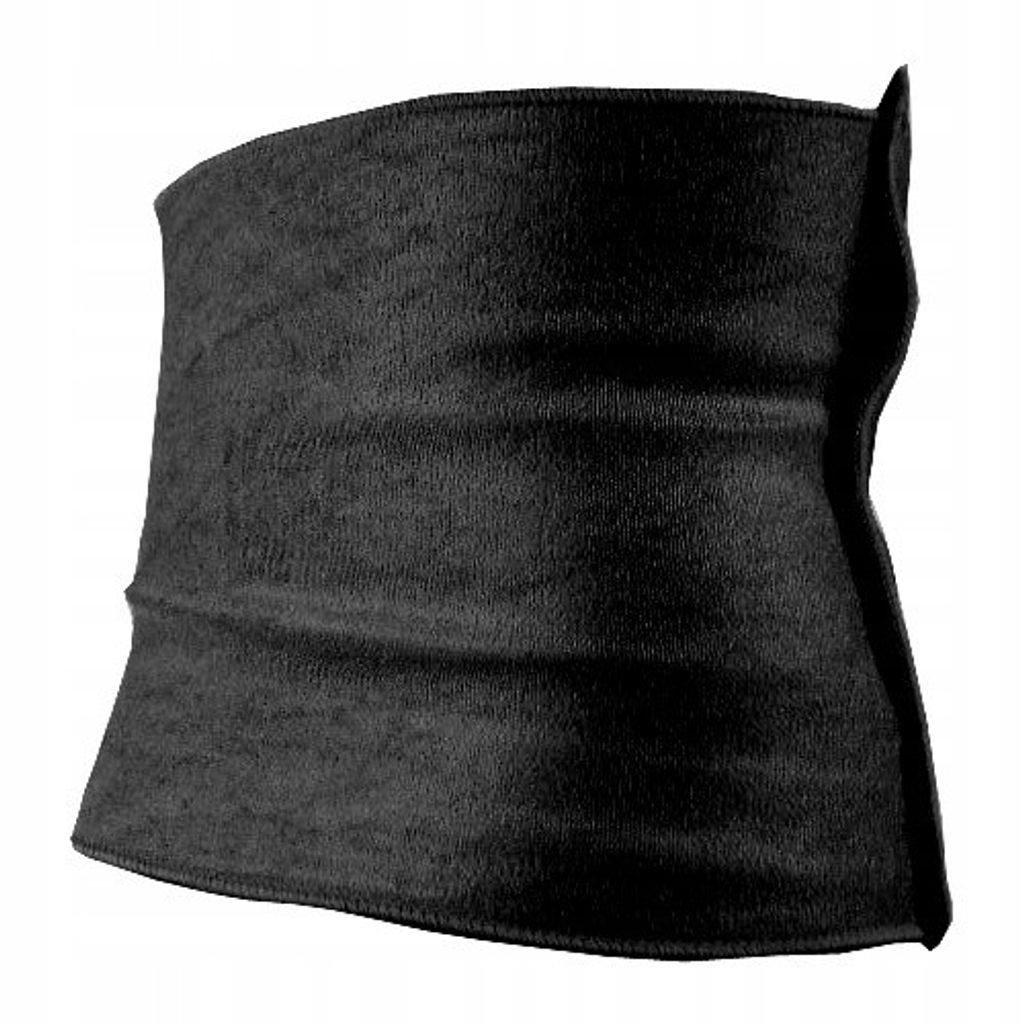 Neoprenový hubnoucí pás - vhodné pro M - 3XL! - black