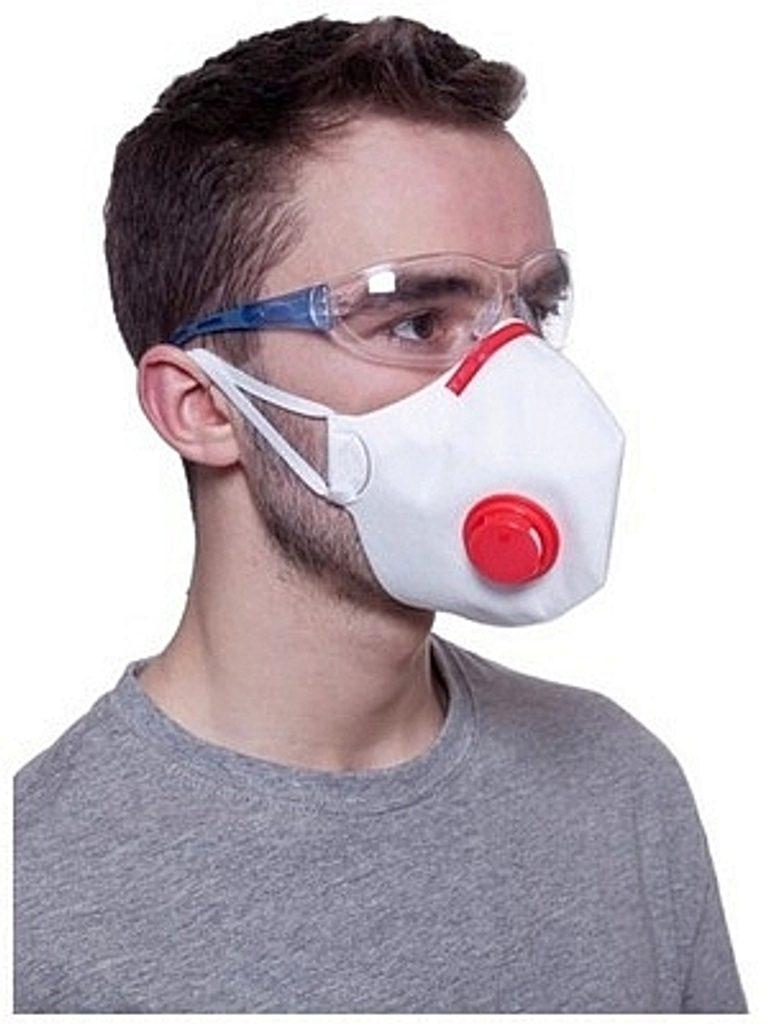 Respirátor FFP3 NR D s bočním výdechovým ventilkem