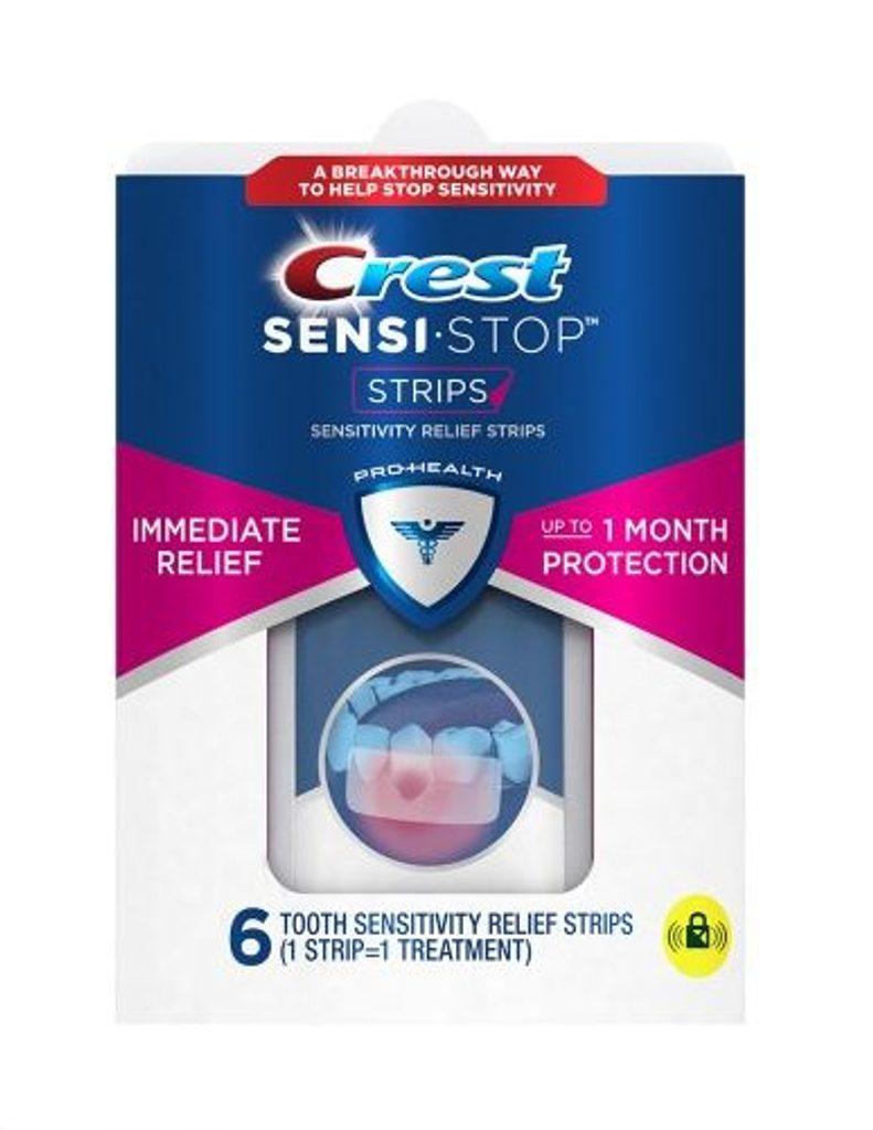 Pásky ke snížení citlivosti zubů - Crest Sensi-Stop Sensitivity