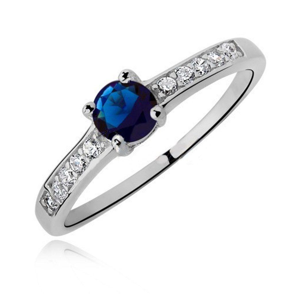 Stříbrný prsten Floria se Swarovski Elements Zirkonia - 49 mm