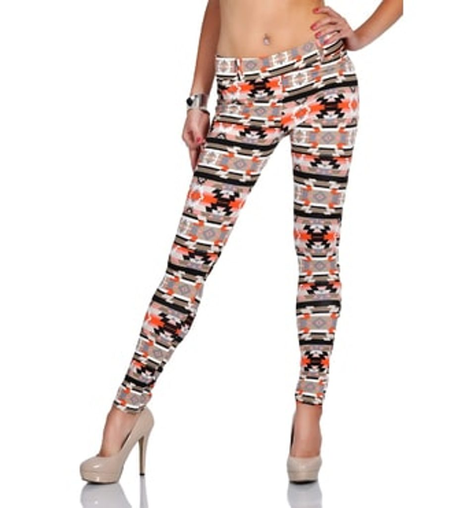 Dámské kalhoty, legíny Aztek - UNI (S-L)