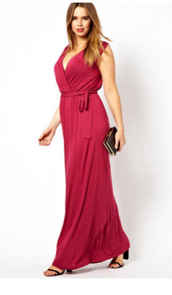 Dámské splývavé šaty - XL/XXL