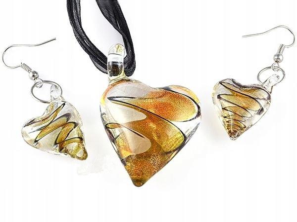 Sada šperků z Benátského skla Vzor 44