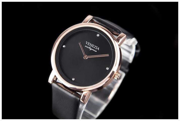 1a82b7824 Studiomody.cz - Luxusní elegantní hodinky VENEZIA Elegance - black ...