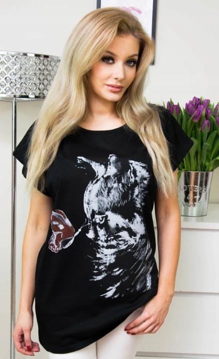 Exkluzivní tričko s potiskem - vzor 5 - 4XL/5XL