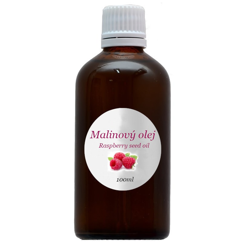 100% Přírodní malinový olej 100ml