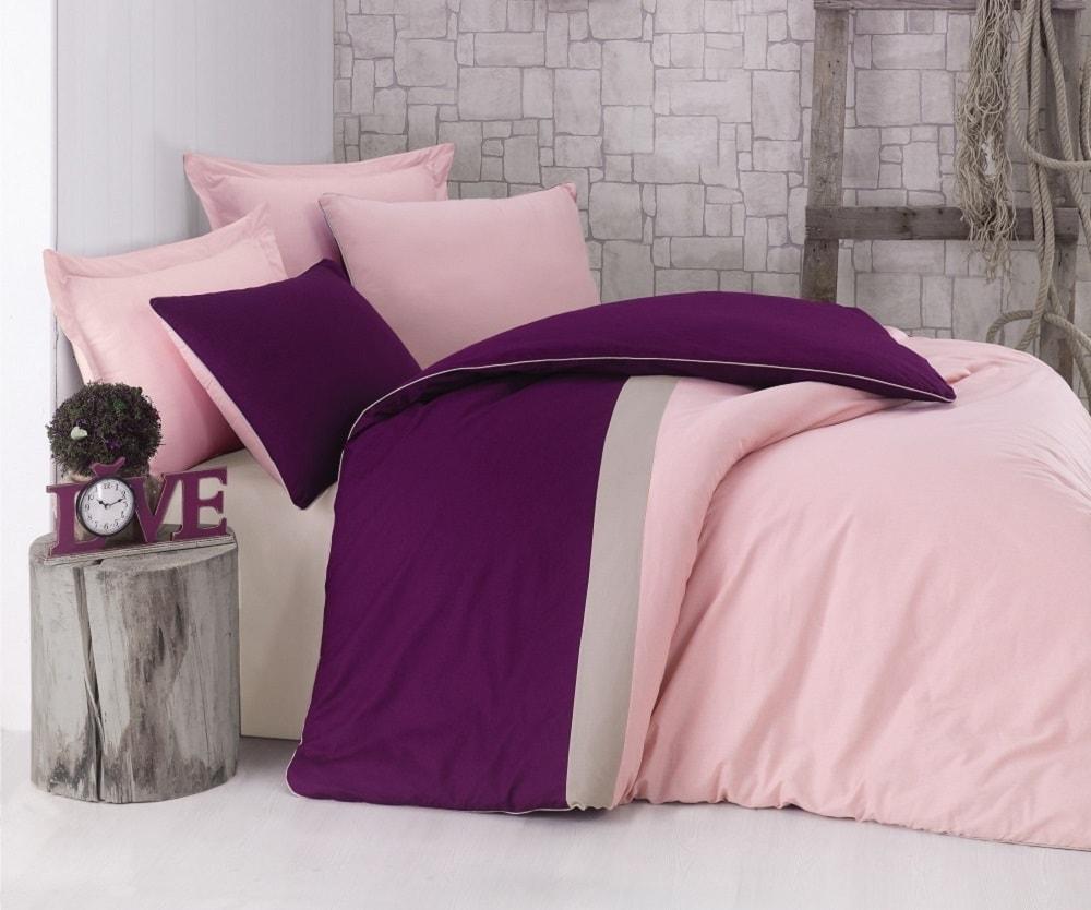 Cottonbox povlečení 100% bavlněné renforcé Burgundy Pink - 140x200 / 70x90 cm