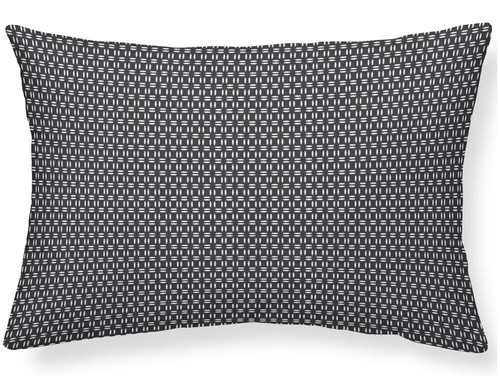 TODAY TERRA ROSA dekorační polštářek 30x50 cm černý