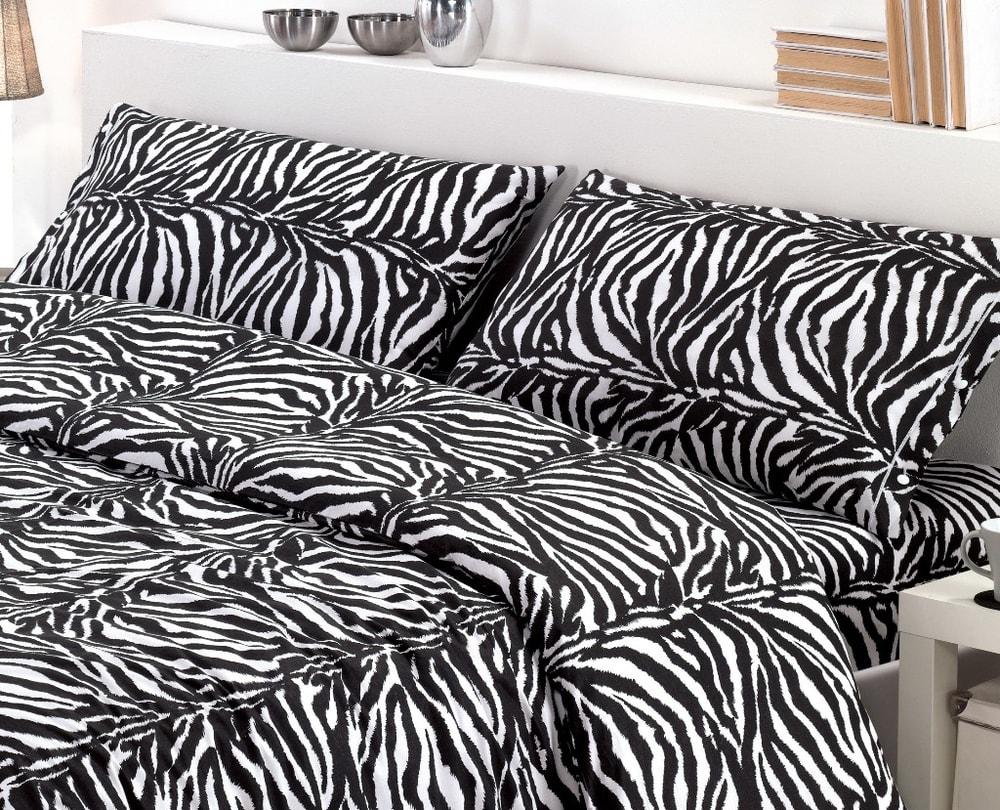 Gipetex Natural Dream Italské povlečení bavlna LUX Zebrato - 140x200cm / 70x90cm