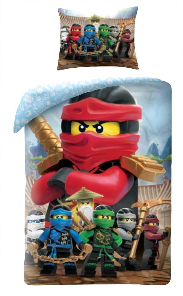 Halantex povlečení Lego Ninja Go LEGO-742BL 140x200/70x90cm
