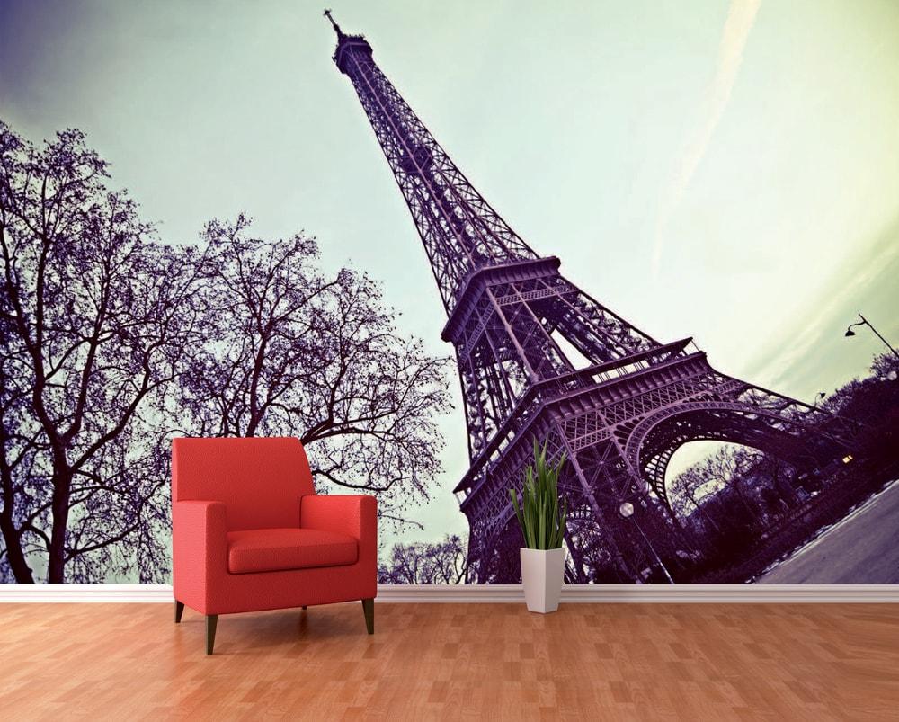 1Wall fototapeta Eiffelova věž 360x253 cm