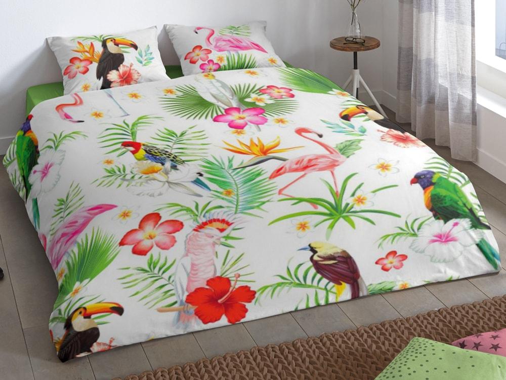 Good Morning Povlečení Good Morning 100% bavlna Paradise 140x200/70x90 cm